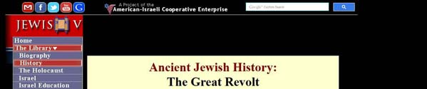 AncientJewishHistoryTheGreatRevolt