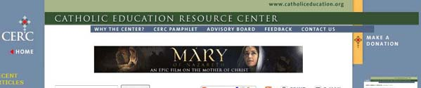 CatholicEducationResourceCenterTheCrusades