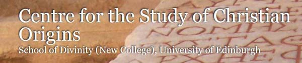 CentrefortheStudyofChristianOrigins