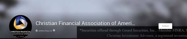 ChristianFinancialAssociationofAmerica(CFAA)